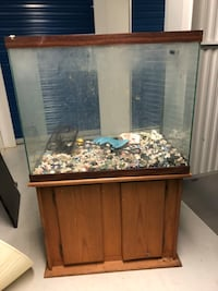 50 Gallon fish tank w/ stand Rockville