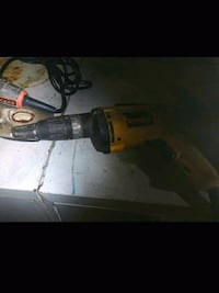 black and yellow Dewalt corded power drill Maryland