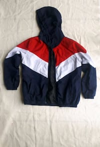 Zaful Navy, White and Red Bomber Jacket Brampton, L7A 2X7