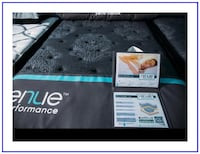 King Foundation Box & Mattress - Direct - New in Plastic - Warranty 43 km