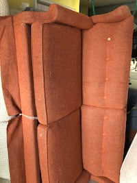 Sofa bed orange not pretty but works Taneytown, 21787