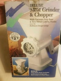 Deluxe meat grinder & chopper