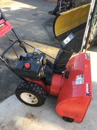 red and black snow blower Methuen, 01844