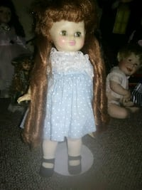 girl doll in white dress West Warwick, 02893
