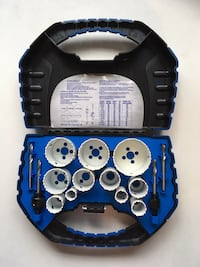 15 pc Hole Saw Kit  Edmonton, T5B 3R6