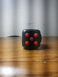 Black And Red Fidget Cube Milton, L9T