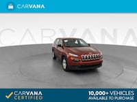 2017 *Jeep* *Cherokee* Sport SUV 4D suv Red Downey