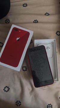 Red iphone 8 plus 64gb Toronto, M9W 0A4
