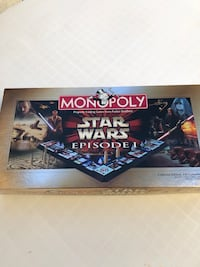 Monopoly 3D Star Wars Episode 1 Collector's Edition Huntington Beach, 92648