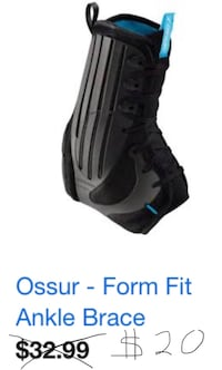 Ankle Brace (2 available... new) 33 mi
