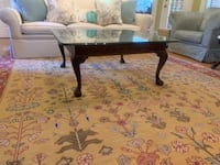 Beautiful Thomasville glass top coffee table. Brentwood, 37027