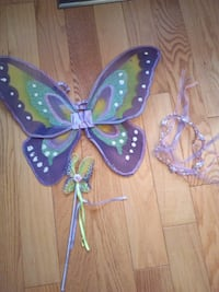 Butterfly wings, wand and crown Vaughan, L4L 5G8