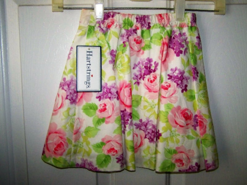 Spring Skirt~Girls Size 4T~Hartstrings~New with tags 0d36231d-3ecb-422e-844d-16c80a5a7008