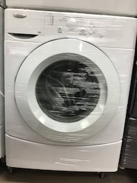 """27"""" WHIRLPOOL FRONT LOAS WHITE WASHER تورونتو"""