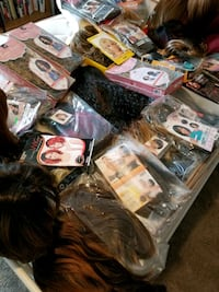 Lot of 28 hair piece hair wigs Metairie, 70003