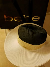 Bebe Panama Hat - BRAND NEW Cypress, 77433