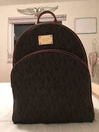 Black and brown michael kors backpack Mississauga, L5A 1J9
