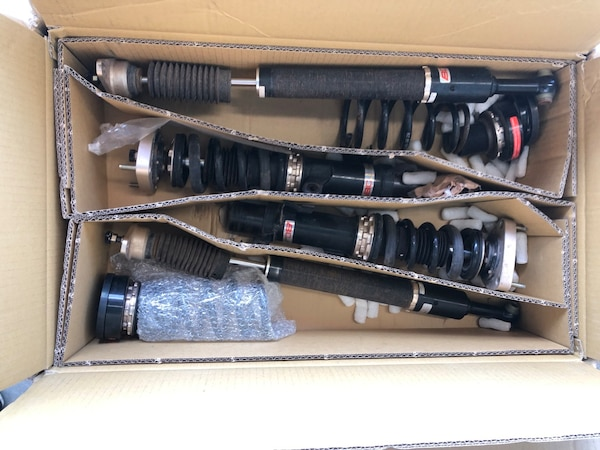 Bc Coilovers for mazda3