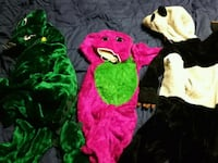 Dress up costumes great for the tickle trunk. Surrey, V3W 7E2
