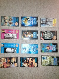 VHS Tape Collection. Dr. Who