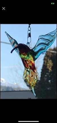 Hummingbirds & butterflies..., but singular or several to string across window.  Brand new. Pick up Port Moody $15 each or 3 for $25 Port Moody, V3H 4C6