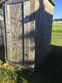 4x8 shed, shingles, on treated skids St. Albert