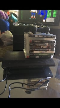 Ps3, 9 games & 20 inch flat screen  Sacramento, 95833
