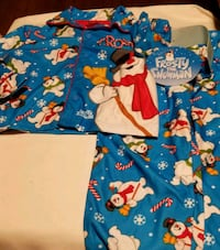 New 4T Toddler Boys Frosty the Snowman PJ's Washington, 20011