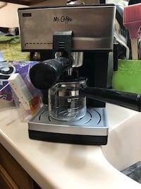 Mr Coffee Expresso/Cappuccino maker with Frother New York, 11204