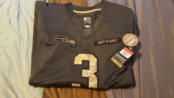 best loved 42dd2 24aaf nfl seahawks salute to service authentic