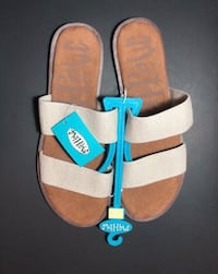 Women's Sandis Mad Love Tahlia Tan Sandals Size 10 Oklahoma City, 73134