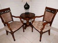 brown wooden dining table set Toronto, M3A 1Y5