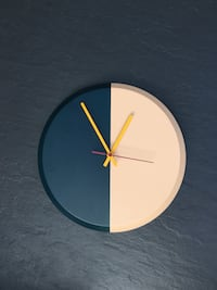 Horloge Made.com bicolore Colombes, 92700