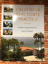 California Real Estate Practice 6Th Edition by Sherry Shindler Price& Leigh Conway South San Francisco, 94080