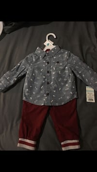 Brand new baby boy outfit $10 2283 mi