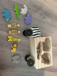 Melissa and doug wooden safari car Arlington, 22201