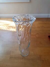 clear glass footed bowl with lid Westminster, 92683
