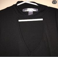 black v-neck sweater Surrey, V4A