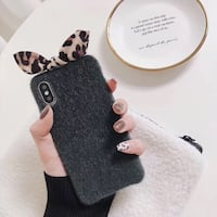 Leopard ribbon print iPhone case  Winnipeg, R3T 4Y8