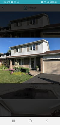 Two storey HOUSE For Rent 4+BR, 3BA in Thornhill Markham