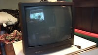 black CRT TV with remote Duluth, 55803