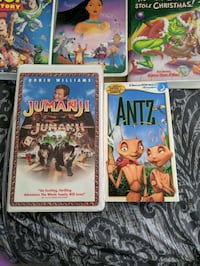 VHS Disney and Pixar VHS tapes.  Portland, 97230