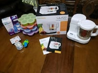 Baby Brezza Glass Baby Food Maker and Other Items Houston