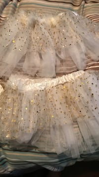 2 sparkly white little girl tutus Vaughan, L6A 1A8
