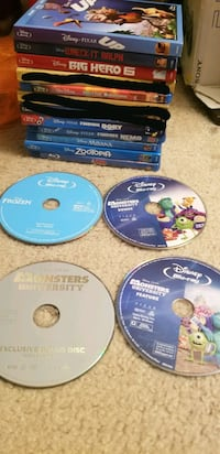 Disney Movie Blu ray and Others Alexandria, 22304
