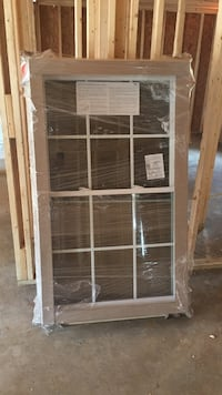 Brand new! Double hung all side vinyl window Jackson, 30233