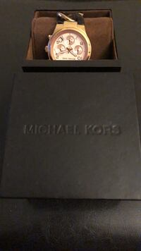 Michael Kors Rose gold watch Toronto, M2K