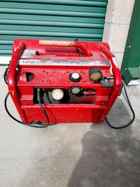 red and black portable generator Wildomar, 92595