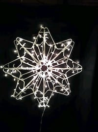 EXTRA LARGE CHRISTMAS STAR/LIGHTS