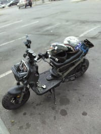 black and gray touring motorcycle Hamilton, L8H 1M9